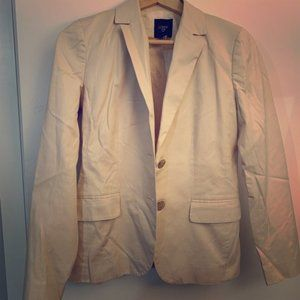 Like-New J Crew Blazer in Light Beige, Size 2